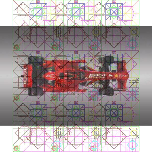 Ferrari F1 2008 + Diagram.